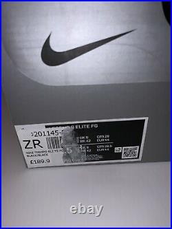 Nike Tiempo Legend 8 Elite Fg Football Boots Black Size Uk 9 At5293-010