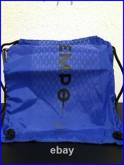 Nike Tiempo Legend 8 Elite Fg, White/Black Hyper Royal, Size 9.5 (AT5293 104)