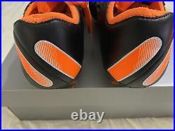 Nike Tiempo Legend 8 Elite IV FG Black/White/Total Orange CI7587-018 Size 9.5