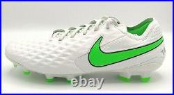 Nike Tiempo Legend 8 Elite Mens Size 9 FG ACC Soccer Cleats AT5293-030 White