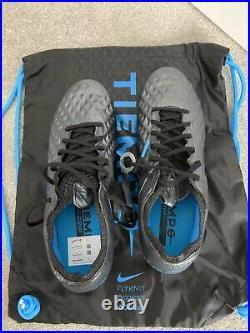 Nike Tiempo Legend 8 Elite Sg-pro Ac Football Boots Black / Blue Size Uk 7.5