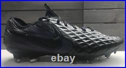 Nike Tiempo Legend 8 VIII Elite Fg Black Soccer Cleats Mens Size 9.5 At5293-010