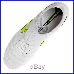 Nike Tiempo Legend Elite Carbon 407474171 Weiß Neon 41 UK7 42 UK8 NEW