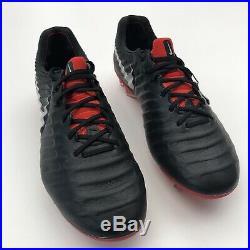 Nike Tiempo Legend Elite Fg Acc Black (ah7238 006) Size Uk8.5/eu43/us9.5