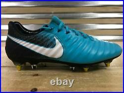Nike Tiempo Legend Elite VII 7 SG PRO Anti Clog Soccer Blue 917805 415 SZ 10.5
