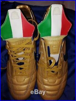 Nike Tiempo Legend FG LE ITALY Limited Edition UK 7 BNIB football boots 2006