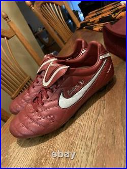Nike Tiempo Legend III 3 Elite FG Cleat Burgundy