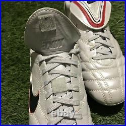 Nike Tiempo Legend III Elite SG 414801-137 8 US Carbon RARE