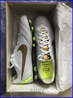 Nike Tiempo Legend IV (4) Elite FG Size 10.5 Soccer Cleats New Rare