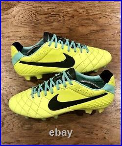 Nike Tiempo Legend IV ACC FG UK11 Pro/Elite Football Boots 2013 Rare CTR Maestri