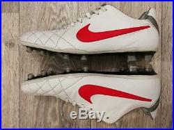 Nike Tiempo Legend IV Elite FG Ronaldinho R10 cleats rare 2011 453955-160