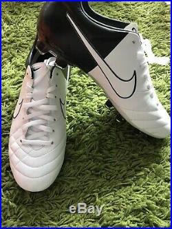 Nike Tiempo Legend IV Elite FG US8 453955 105 R10 10r Ronaldinho Euro 2012