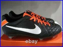 Nike Tiempo Legend IV Elite SG Soccer Cleats Sz 11 K Leather 453956-019 Ronaldo