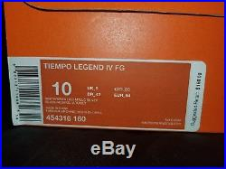 Nike Tiempo Legend IV fg size 10 US