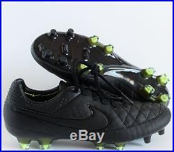 Nike Tiempo Legend V 5 FG Black-Volt SZ 8.5 631518-007