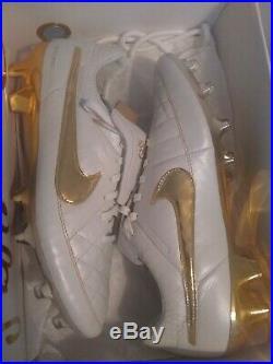 Nike Tiempo Legend V 5 Ronaldinho R10 size 11.5 limited rare