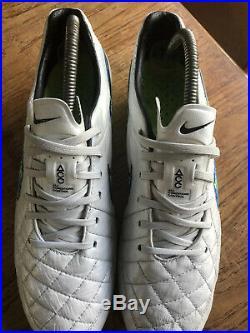 Nike Tiempo Legend V ACC FG UK8.5 Football Boots 2014 Release Rare Pro Elite