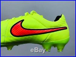 Nike Tiempo Legend V ACC FG Volt/Hyper Punch/Black UK Size 9 BNIB RARE Classic