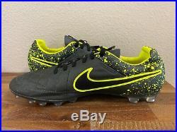 Nike Tiempo Legend V AG ACC Soccer Cleats 631518-008 RARE Sz 11