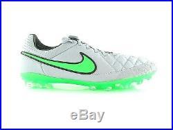 Nike Tiempo Legend V AG-R ACG Wolf Grey Green Fussball UK 8.5 US 9.5 Eur 43