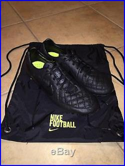 Nike Tiempo Legend V FG Academy Pack (blackout) Size 9