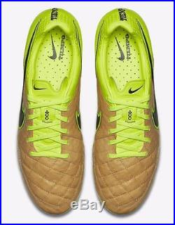 ca5ec462da84 Nike Tiempo Legend V FG Soccer Cleats ACC Tech Craft Pack 631518-707 Canvas/