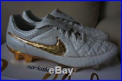 Nike Tiempo Legend V Prem FG Ronaldinho 717137-190 touch of gold limited 3000