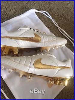 Nike Tiempo Legend V Premium FG Limited Editiion Ronaldinho Size 11.5
