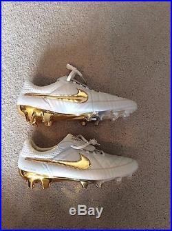 8ce5371c2 Nike Tiempo Legend V R10 Ronaldinho Premium FG Soccer Shoes Touch Of Gold  10.5