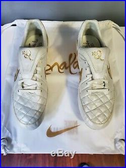 2fe007f24 Nike Tiempo Legend V Ronaldinho R10 Touch Of Gold Prem Fg