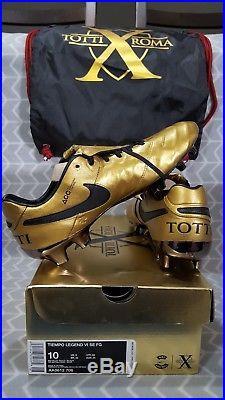 Nike Tiempo Legend V VI VII SE Totti fg ACC special edition
