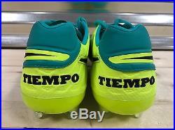 Nike Tiempo Legend VI 6 FG ACC Soccer Cleats Jade Green SZ 8.5 (819177-307)