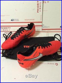 Nike Tiempo Legend VI 6 FG Red Unreleased Ronaldinho Superfly