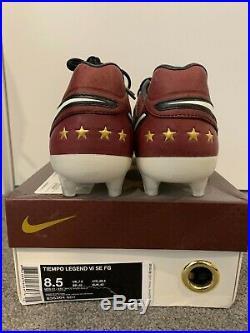 Nike Tiempo Legend VI 6 SE Andrea Pirlo FG Football boots Limited Edition Italy