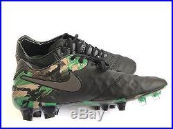Nike Tiempo Legend VI FG (835364 003) Black Camo Soccer Mercurial Magista Sz 9