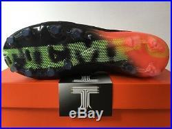 Nike Tiempo Legend VI FG ACC 819177 018 Real Leather UK Size 7.5 Euro 42