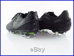 Nike Tiempo Legend VI FG ACG Volt Black Academy Pack UK 8.5 US 9.5 Eur 43