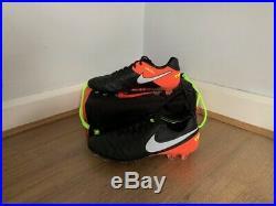 Nike Tiempo Legend VI FG Black/White/Hyper Orange/Volt UK 9, US 10, EU 44