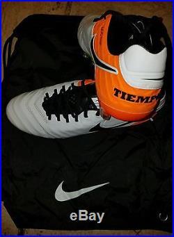 Nike Tiempo Legend VI FG Mens Size 10.5 Soccer Cleats 819177-108 Total Orange