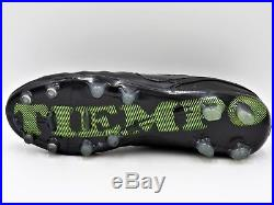 Nike Tiempo Legend VI FG Soccer Cleats (Molded), ACC, Academy Black, Men's 10