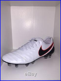 Nike Tiempo Legend VI FG Soccer cleats 819177 001 US multiple sizes leather