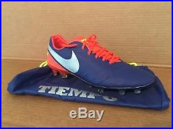 Nike Tiempo Legend VI Fg Size 9 deep royal blue