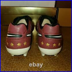 Nike Tiempo Legend VI SE Andrea Pirlo FG Merlot/Gold/Wht 835364-601
