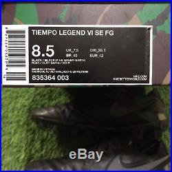 Nike Tiempo Legend VI SE FG 835364-003 8.5 US Camo Pack RARE