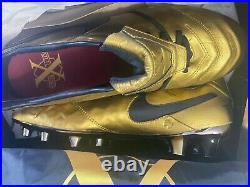 Nike Tiempo Legend VI SE FG TOTTI ROMA SIZE US 9.5 Pair 0675/2500