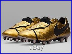 Nike Tiempo Legend VI SE FG Totti X Roma Limited Edition Soccer Cleats Size 10