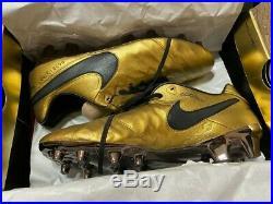 Nike Tiempo Legend VI SE FG Totti X Roma US 9.5 Soccer Cleats