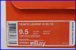 Nike Tiempo Legend VI SE FG Varsity Blue Air Max Pack 835364 141 Size 9.5 RARE