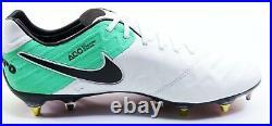 Nike Tiempo Legend VI SG PRO ACC White Black Soccer Cleats Sz 9 NEW 869483 104