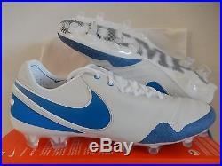Nike Tiempo Legend VI Se Fg Air Max Pack Summit White-blue Sz 11 835364-141